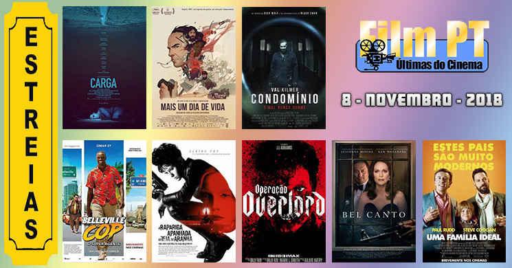 Estreias de filmes nos cinemas portugueses: 8 de Novembro de 2018