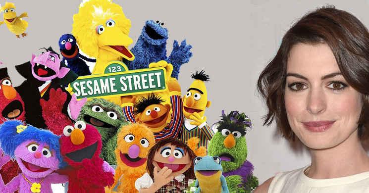 Anne Hathaway poderá protagonizar filme sobre a Rua Sesamo