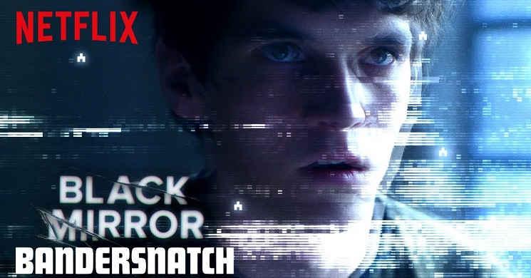Filme interativo Black Mirror Bandersnatch