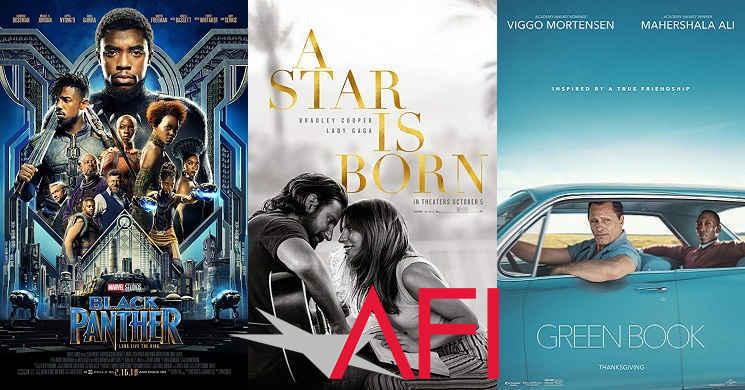 American Film Institute revelou a lista dos 10 melhores filmes de 2018