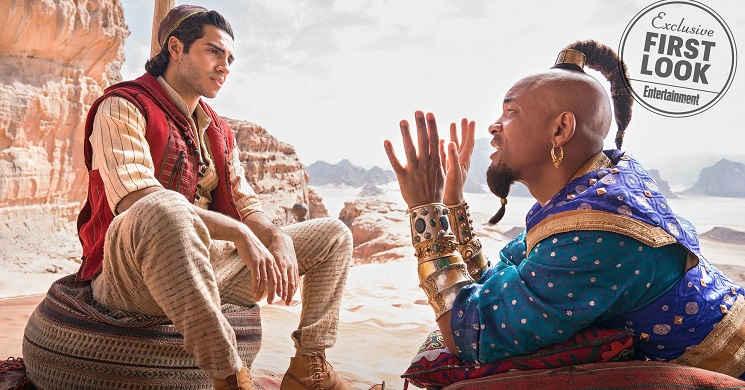 Primeiras imagens do live-action  Aladdin