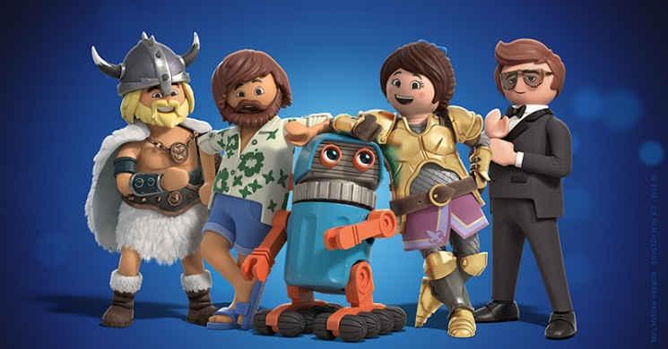 Teaser trailer do filme Playmobil