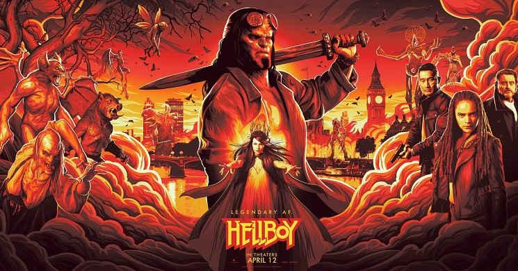 Trailer oficial do filme Hellboy 2019