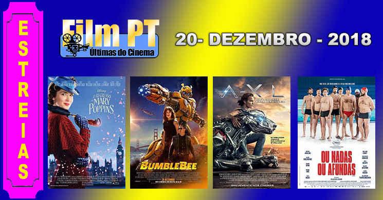 Estreias de filmes nos cinemas portugueses: 20 de dezembro de 2018