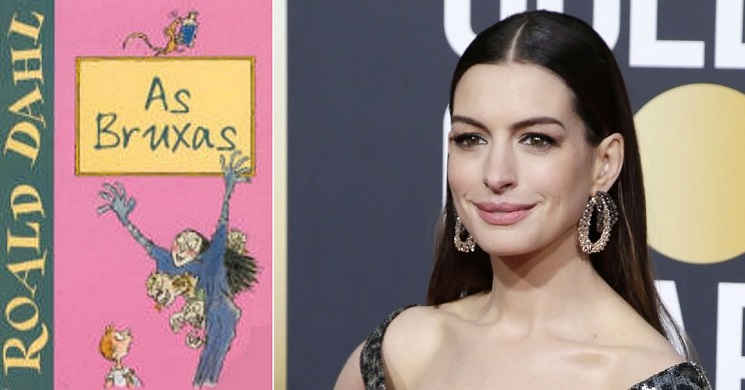 Anne Hathaway protagonista do filme As Bruxas