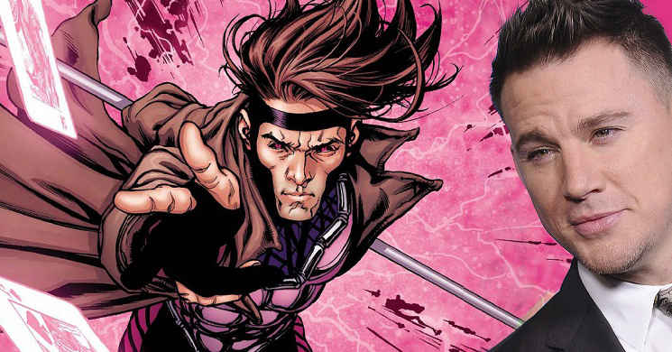 Channing Tatum considera dirigir Gambit
