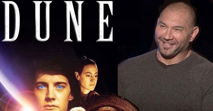 Dave Bautista no elenco da nova adaptação de Dune