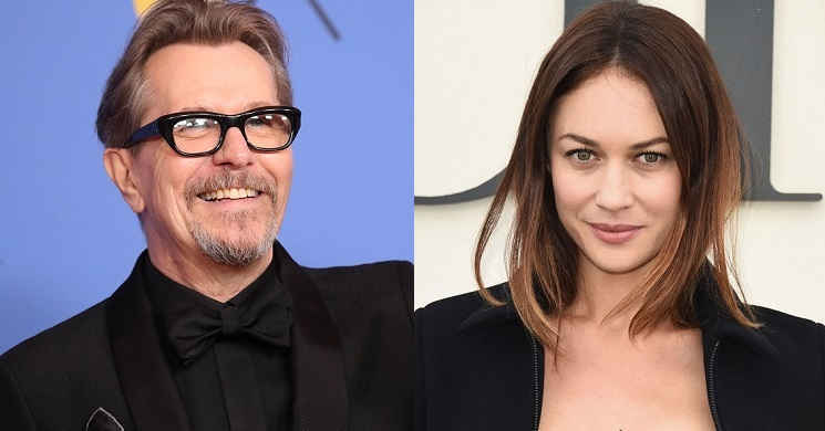 Gary Oldman e Olga Kurylenko no elenco do thriller The Courier