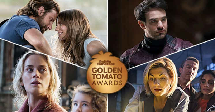 Rotten Tomatoes revelou os vencedores da 20ª edição dos Golden Tomato Awards
