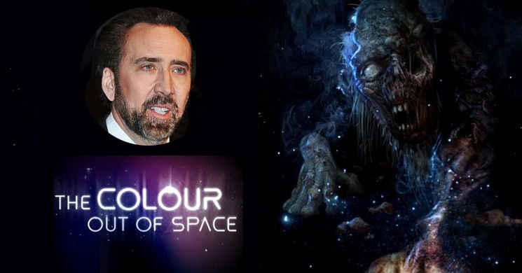 Nicolas Cage vai protagonizar The Colour Out of Space