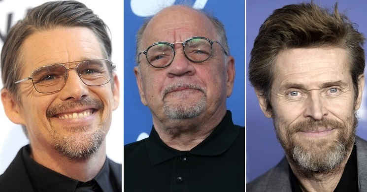 Paul Schrader, Ethan Hawke e Willem Dafoe-Nine Men From Now