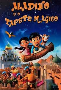 Poster do filme Aladino e o Tapete Mágico