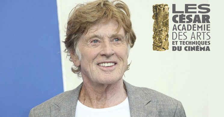 Robert Redford vai ser distinguido com um prémio honorário na 44ª edição dos Prémios César