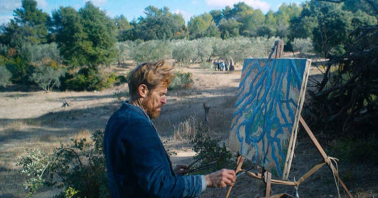 Willem Dafoe é Van Gogh no trailer português do drama biográfico