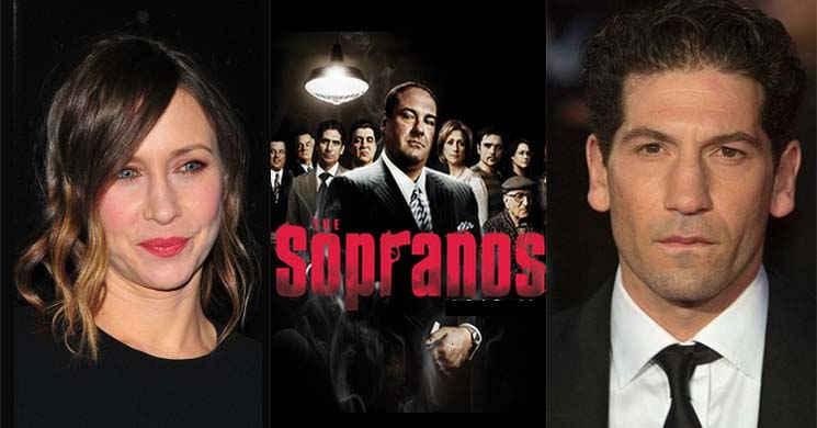 Vera Farmiga e Jon Bernthal no elenco do filme The New Saints of Newark