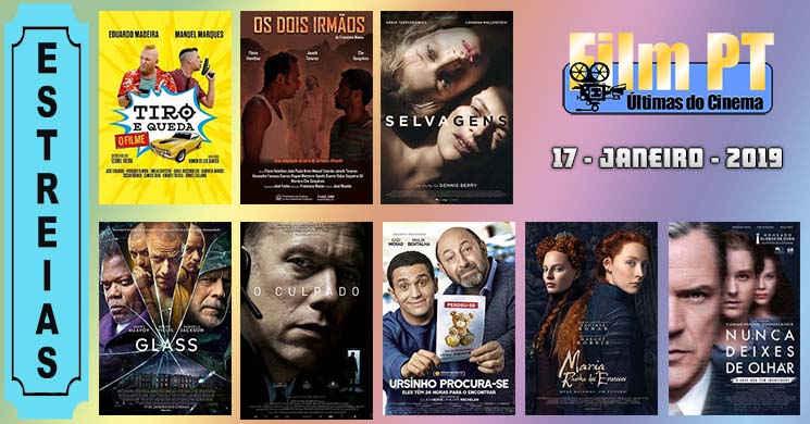 Estreias de filmes nos cinemas portugueses: 17 de janeiro de 2019