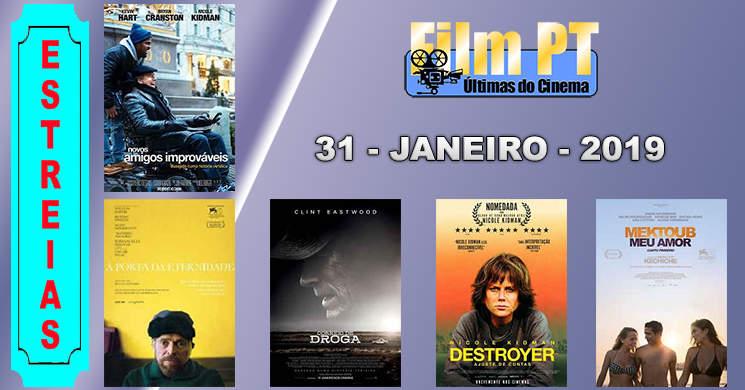 Estreias de filmes em Portugal: 31 de janeiro de 2019