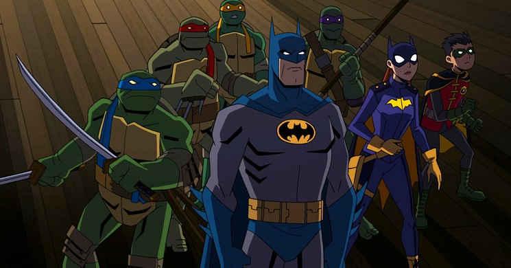 Batman vs Teenage Mutant Ninja Turtles filme animado