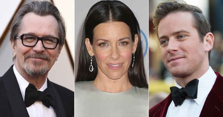 Gary Oldman, Evangeline Lilly e Armie Hammer no elenco do thriller