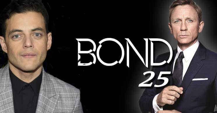 Rami Malek será o vilão do filme Bond 25