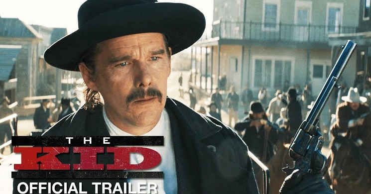 Trailer oficial do western The Kid