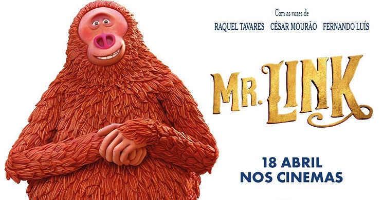Trailer português da animação Mr Link