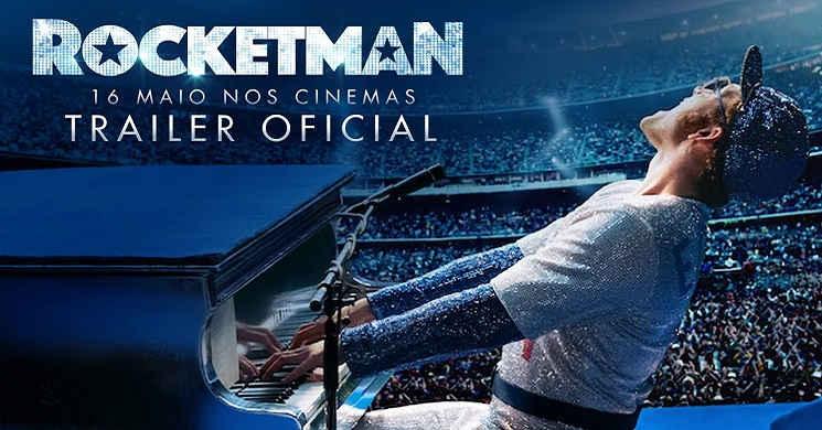 Taron Egerton transforma-se em Elton John no novo trailer português de