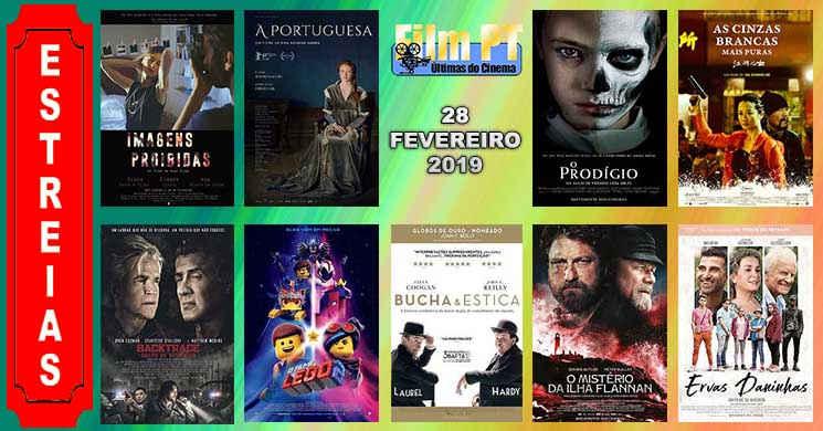 Estreias de filmes nos cinemas portugueses: 28 de fevereiro de 2019