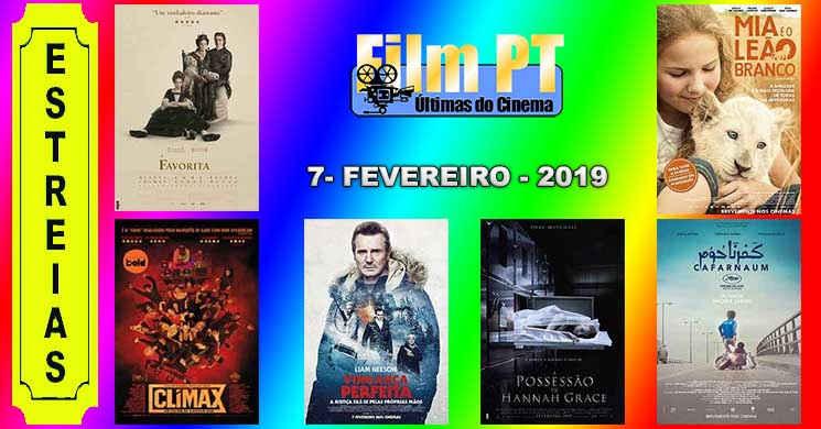 Estreias de filmes nos cinemas portugueses: 7 de fevereiro de 2019