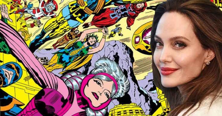 Angelina Jolie em negociações para o elenco de The Eternals