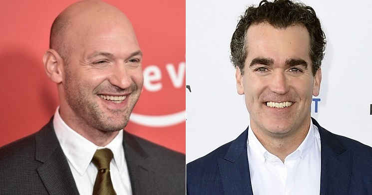 Corey Stoll e Brian d'Arcy James no elenco do remake do musical
