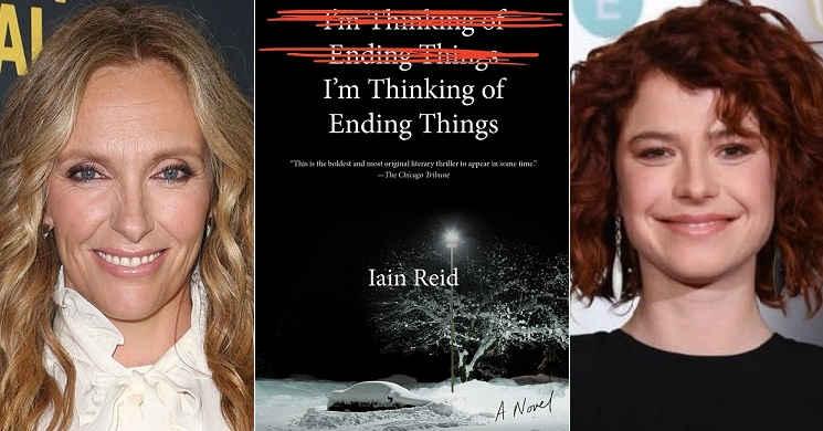 Toni Collette e Jessie Buckley no elenco de I'm Thinking of Ending Things