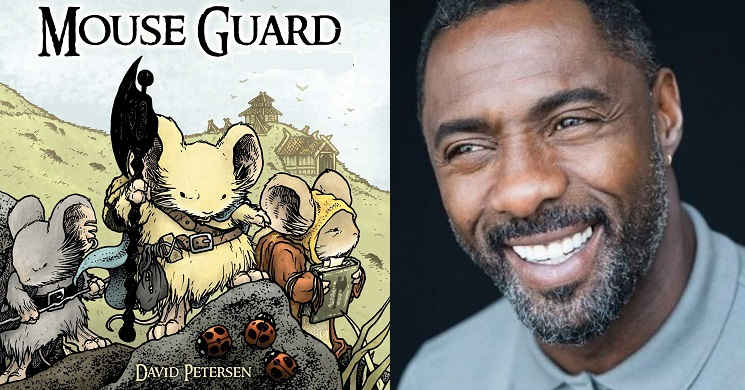 Idris Elba no filme Mouse Guard