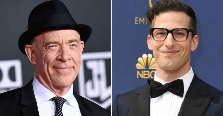 J.K. Simmons e Andy Samberg serão os protagonistas da comédia
