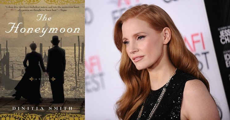 Jessica Chastain vai produzir The Honeymoon