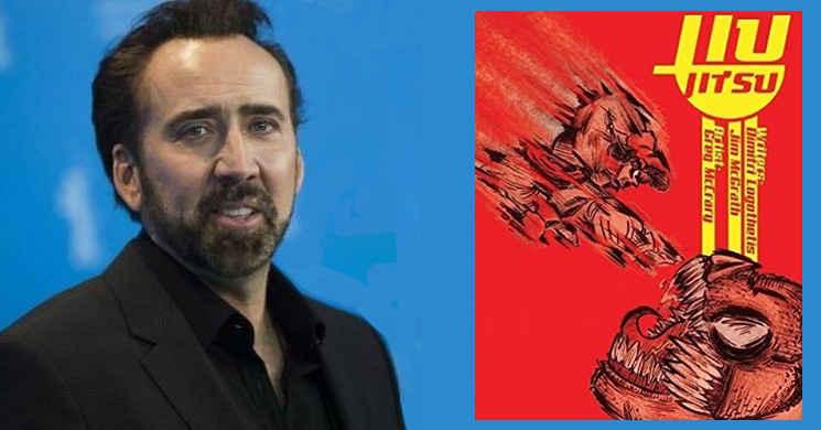 Nicolas Cage protagonista do filme Jiu Jitsu