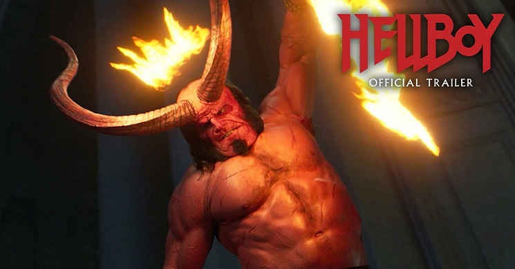 Novo trailer oficial do filme Hellboy