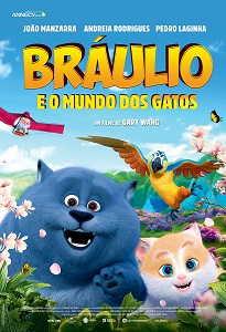 Poster do filme Braúlio e o Mundo dos Gatos