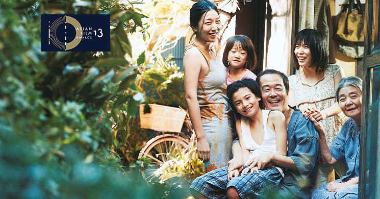 Shoplifters eleito o Melhor Filme do Asian Film Awards 2019