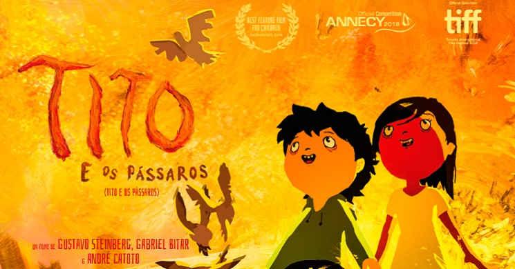 Só a amizade vence o medo. Trailer da animação brasileira