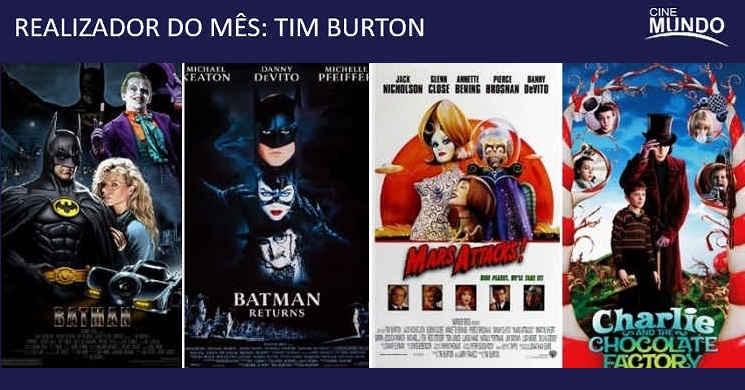 Realizador do Mês de Abril: Quatro filmes do icónico realizador Tim Burton no Canal Cinemundo