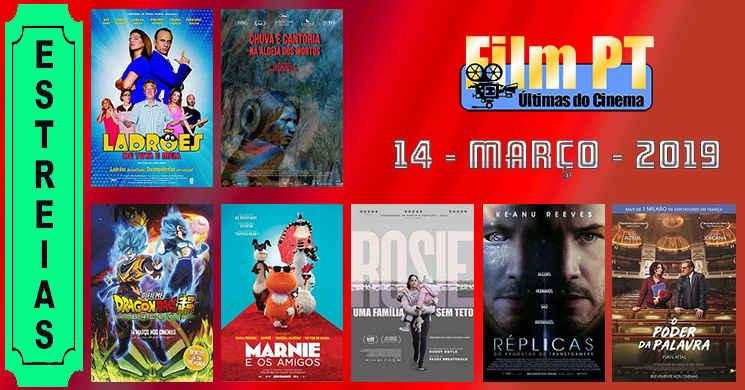 Estreias de filmes nos cinemas portugueses: 14 de março de 2019