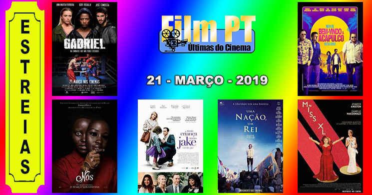 Estreias de filmes nos cinemas portugueses: 21 de março de 2019