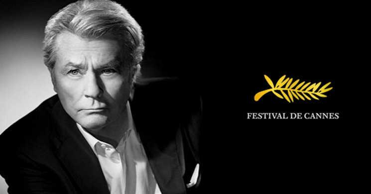 Alain Delon vai ser homenageado com a Palma de Ouro Honorária no 72º Festival de Cannes