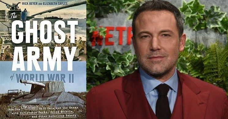 Ben Affleck vai dirigir e protagonizar o filme Ghost Army