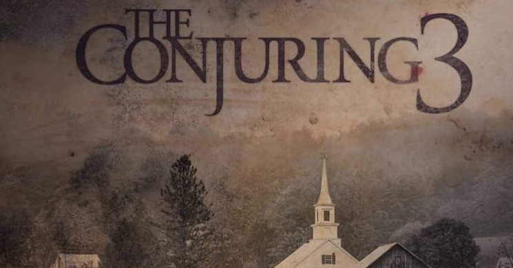 Cartaz do filme The Conjuring 3