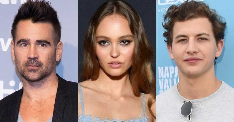 Colin Farrell, Lily-Rose Depp e Tye Sheridan no elenco do thriller de ficção científica