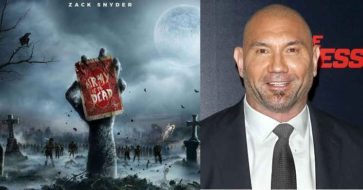 Dave Bautista será o protagonista do filme Army of the Dead
