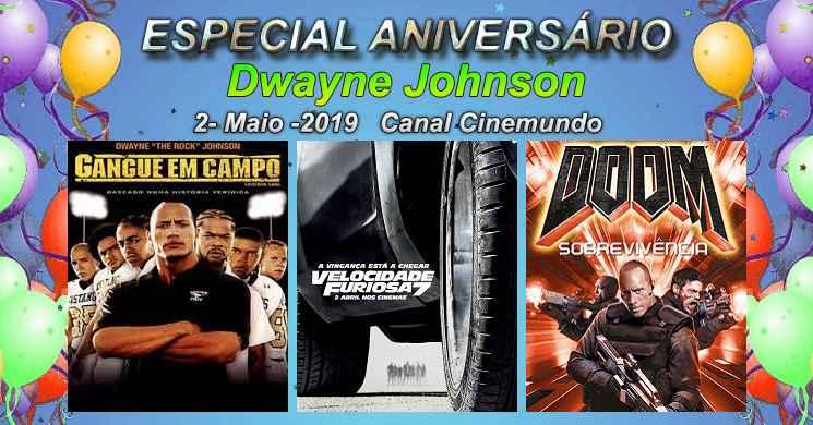 Canal Cinemundo exibe 3 filmes no Especial Aniversário de Dwayne Johnson