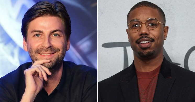 Jon Watts e Michael B. Jordan no filme Methusaleh